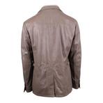 Pal Zileri Concept // Lamb Leather Jacket // Light Brown (Euro: 58)