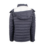 Pal Zileri Lab // Quilted Coat Jacket // Gray (Euro: 48)