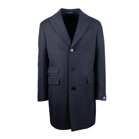 Pal Zileri Sartoriale // Wool Frock Coat // Gray (Euro: 48)
