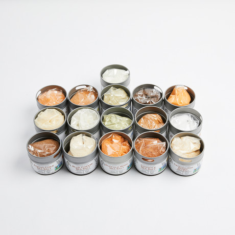 Complete Gourmet Cooking + Finishing Salts // Set of 16