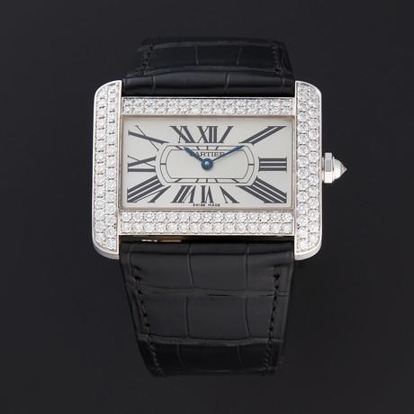 Cartier Divan Quartz // WA301370 // Store Display