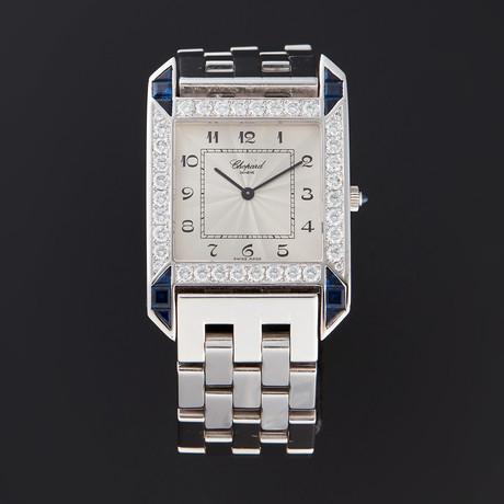 Chopard Rectangle Watch Quartz // 143297-23 // Pre-Owned