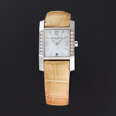 Baume & Mercier Diamant Quartz // MOA08667 // Store Display