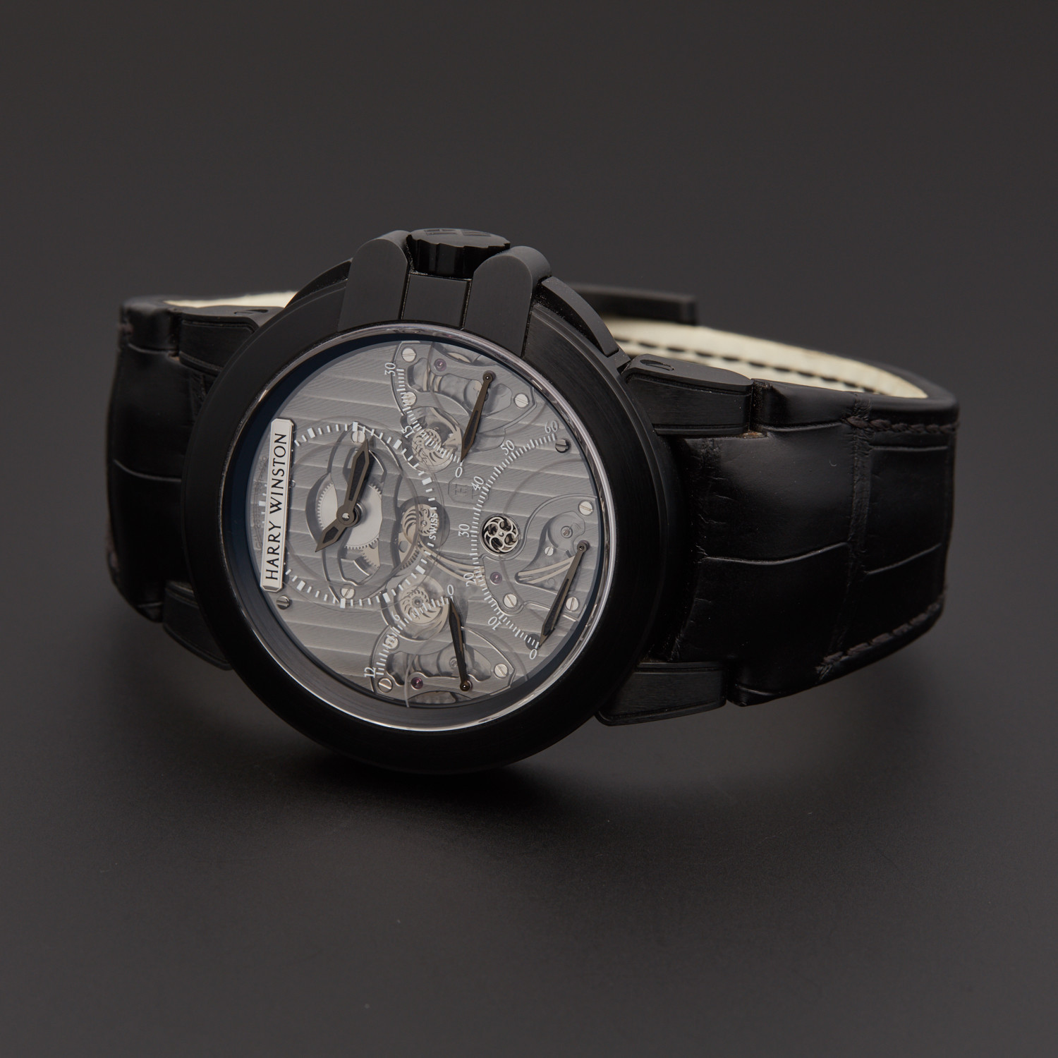 the latest 30c76 cb83f Harry Winston Ocean Triple Retrograde Chronograph Automatic     OCEACT44ZZ002    Store Display