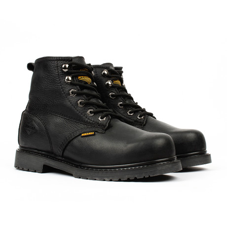 Slip-Resistant Work Boots // Black (US: 5)