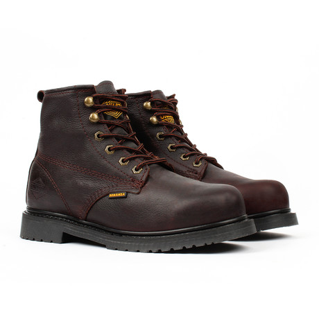 Slip-Resistant Work Boots // Brown (US: 5)