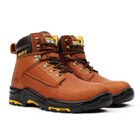 Pro Series Work Boots // Brown (US: 5)