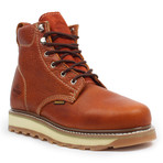 Industrial Round-Toe Work Boots // Light Brown (US: 9)