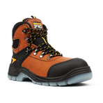 Pro Series Work Boots + Toe-Guard // Brown (US: 5.5)