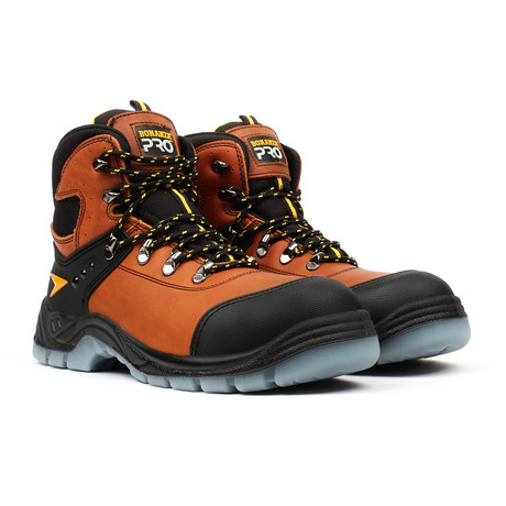 Pro Series Work Boots + Toe-Guard // Brown (US: 5)