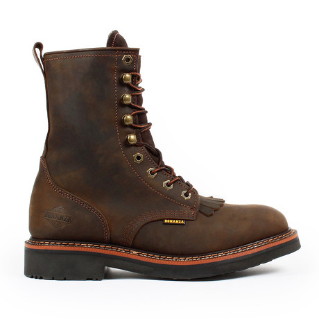 Lacer Work Boots // Crazy Horse Brown (US: 5)