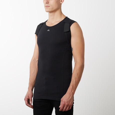 Posture Correction Tank Top // Black (XXS)