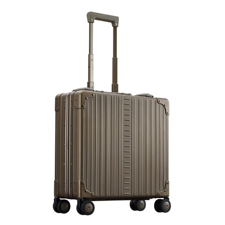 "17"" Aluminum Wheeled Business Case // Bronze"