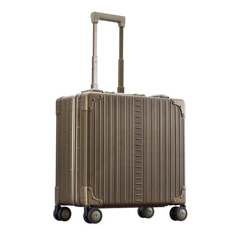 "17"" Aluminum Deluxe Wheeled Business Case // Bronze"