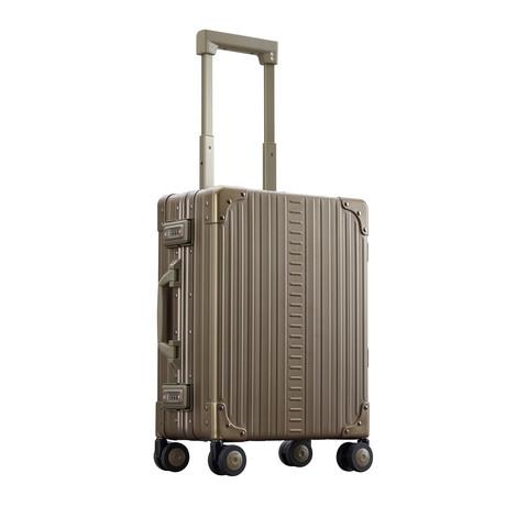 "19"" Aluminum International Carry-On // Bronze"
