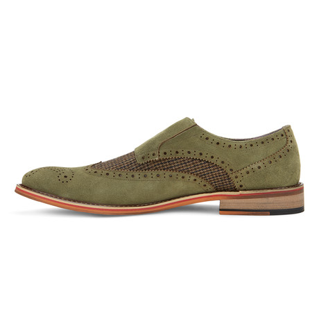 The Murphy Shoe // Olive (US: 7.5)