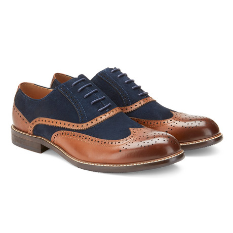 The Horvat Shoe // Tan Navy (US: 7.5)