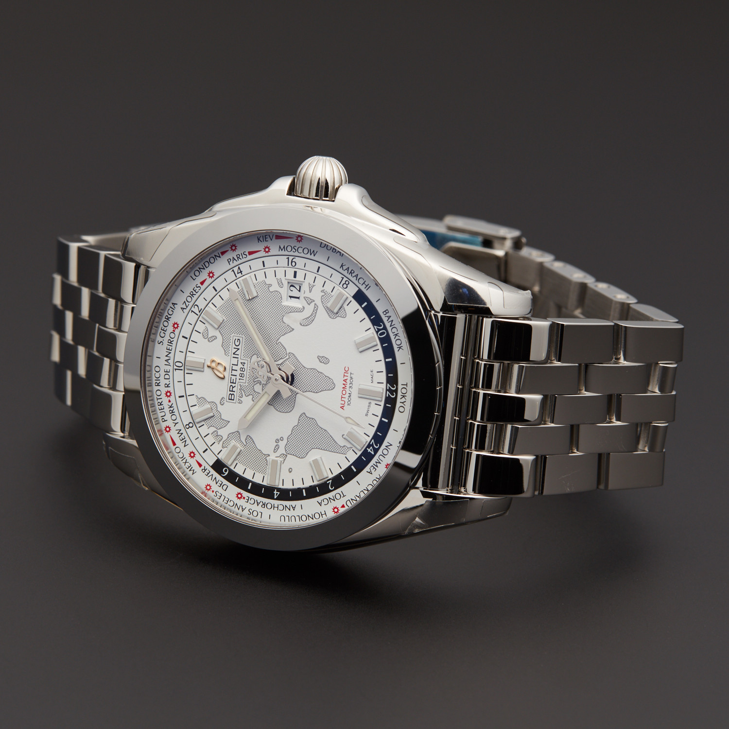 Breitling Galactic Unitime World Time Automatic ...