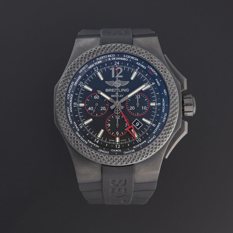 Breitling Bentley GMT Light Body Chronograph Automatic // VB043222/BD69/222S/V20DSA.2 // 140431 // Pre-Owned