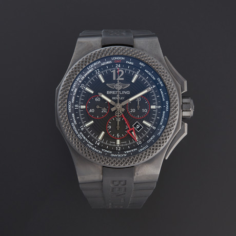 Breitling Bentley GMT Light Body Chronograph Automatic // VB043222/BD69/222S/V20DSA.2 //140433 // Pre-Owned