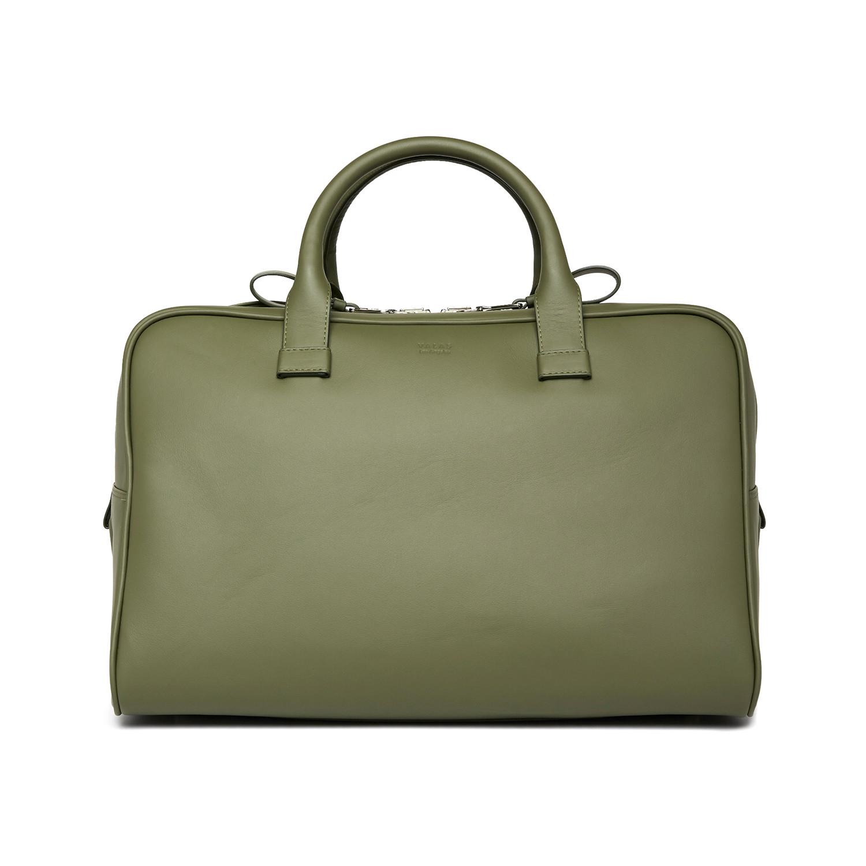 Weekender Bag Olive Florida Leather Valas Los Angeles