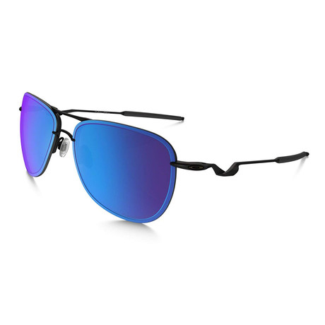 Oakley // Men's Tailpin Sunglasses // Satin Black + Sapphire Iridium Polarized