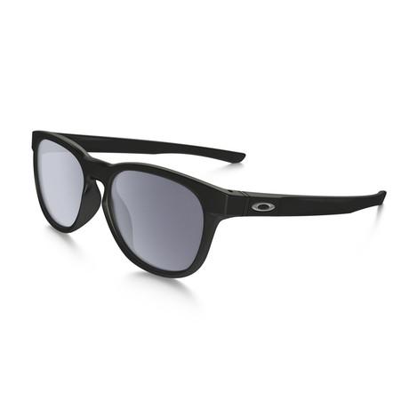 Oakley // Men's Stringer Sunglasses // Matte Black + Gray