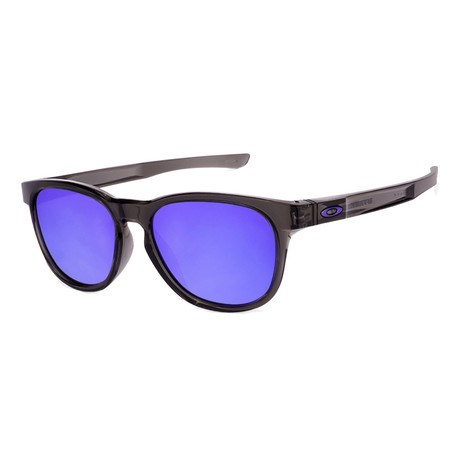 Oakley // Men's Stringer Sunglasses // Gray Smoke + Violet Iridium
