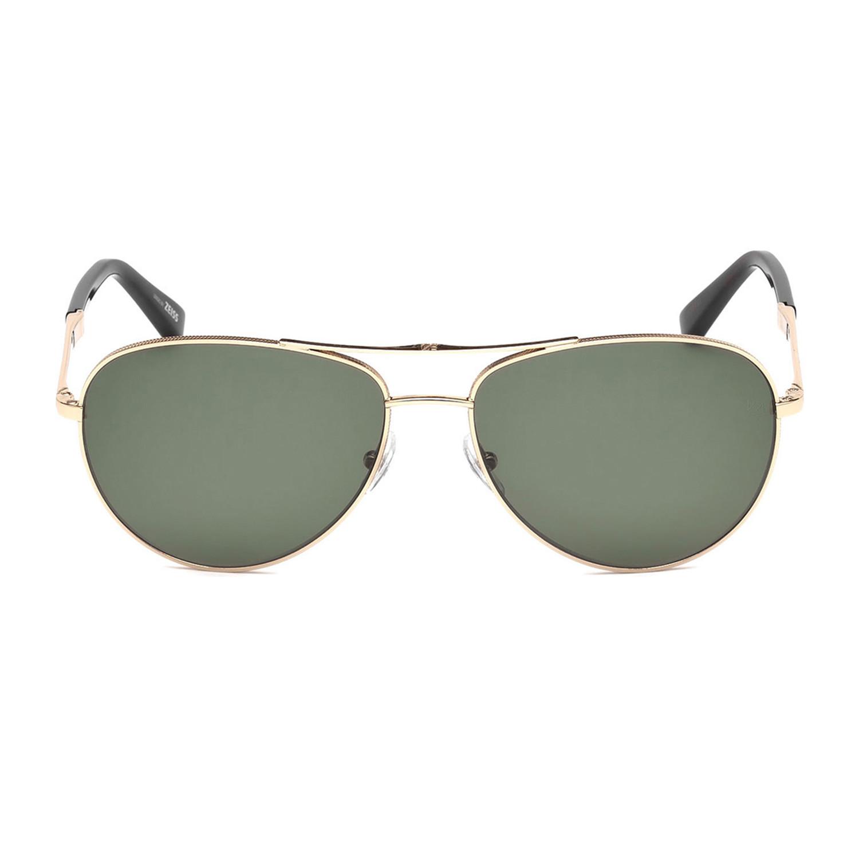9da1a238562 7c5c479e766175d4cfd980a5fabe7d38 medium. Zegna    Men s Polarized Aviator  Sunglasses    Shiny Rose Gold + Green Polarized
