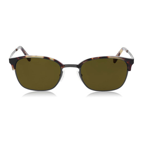 Zegna // Rounded Sunglasses // Tortoise + Brown