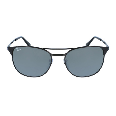 Men's Signet Polarized Sunglasses // Black + Gray // Polarized