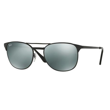 Ray-Ban // Men's Signet Polarized Sunglasses // Black + Gray Polarized