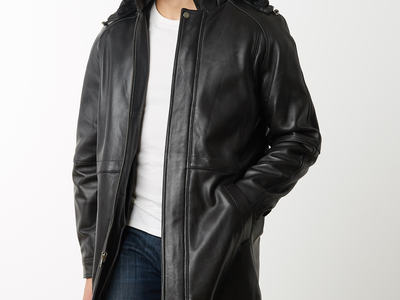 Photo of CLEARANCE: Outerwear We've Got You Covered Mason + Cooper Leather Parka // Black (L) by Touch Of Modern