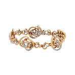 Damiani 18k Two-Tone Gold Diamond Bracelet