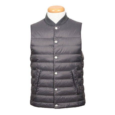 Vespasian Puffer Vest // Taupe (XS)