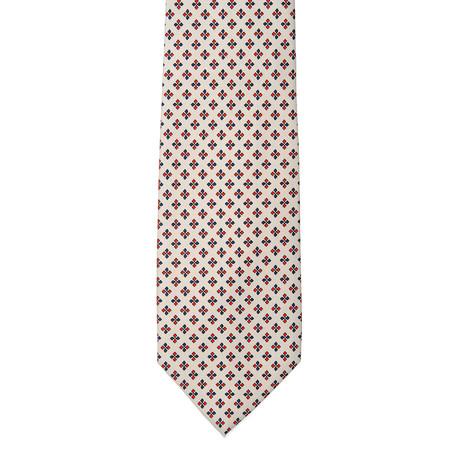 E. Marinella // Geometric Tie // Gray
