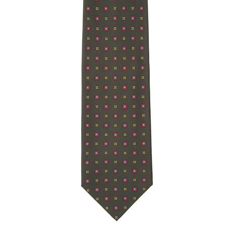 E. Marinella // Patterned Tie // Green