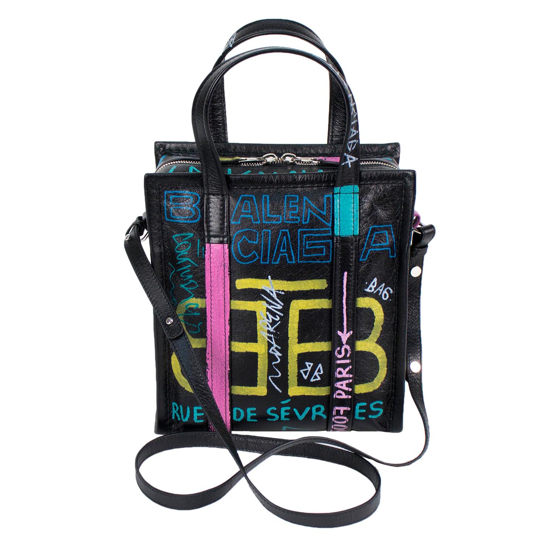 8819877a40 Graffiti Bazar Shopper Extra-Small Tote Bag - Balenciaga - Touch of ...