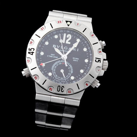 Bvlgari GMT Automatic // SD38 // Pre-Owned