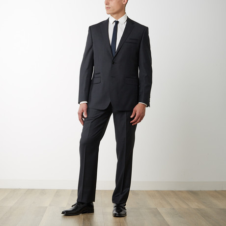 2BSV Notch Lapel Suit FF Pant Charcoal (US: 36S)