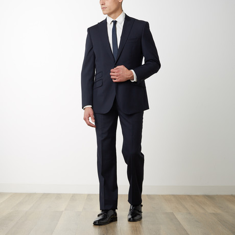 2BSV Peak Lapel Suit FF Pant Navy (US: 36S)