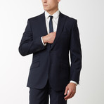 2BSV Peak Lapel Suit FF Pant Navy (US: 38R)