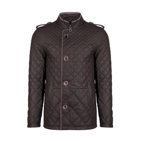 Mert Leather Jacket // Brown (S)