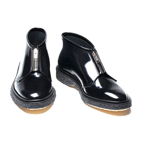 Jared Zipper Boots // Black (Euro: 40)