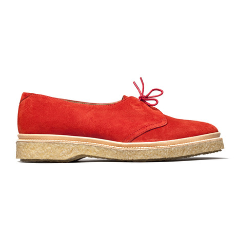 Fredric Lace Up Open Derby // Red (Euro: 40)