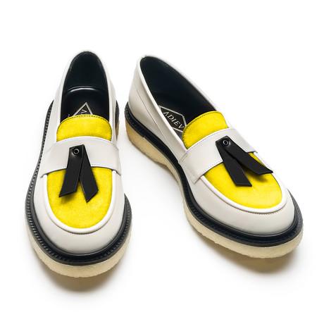 Philip Loafer // White + Yellow + Black (Euro: 40)