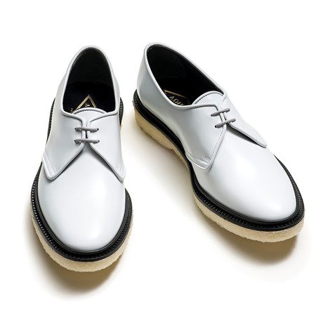 Hosea Lace Up Derby // Pale Gray (Euro: 39)