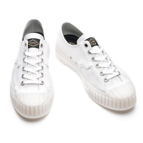 Rigoberto Low Lace Up Sneakers // White Canvas (Euro: 39)