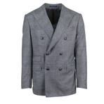 Pal Zileri // Cashmere Blend Double-Breasted Suit // Gray (Euro: 46)