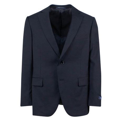 Pal Zileri // Wool 2 Button Suit // Navy Blue (Euro: 46)